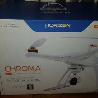 Horizon CHROMA camera drone with FPV gear
