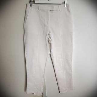 Fate & becker white pants