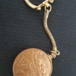 Olympics 1964 Tokyo - Collector Keychain Coins