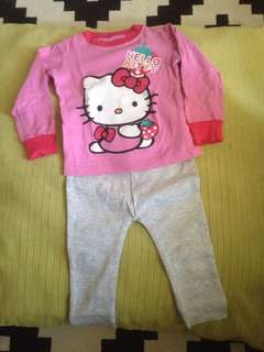 Hello Kitty Top & Pants