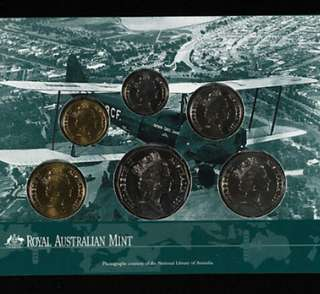 Australia 1997 uncirculated coin set澳洲1997紀念錢幣