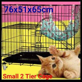 BRAND NEW TWO TIER PET CAGE - CHEAPEST IN SINGAPORE & 24 HOURS SELF COLLECT