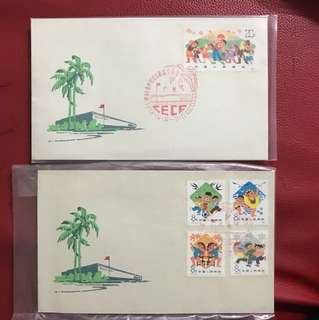 China stamp 1977 T21 FDC