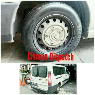 Tyre 205/65 R16C Membat on Citroen Dispatch 🐕 Super Offer 🙋♂️