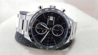 TAG HEUER Carrera Automatic Chronograph CV201AJ brand new