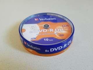 Verbatim DVD-R DL 燒錄碟