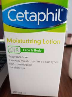 Cetaphil Moisturizing Lotion For Face & Body (200ml)