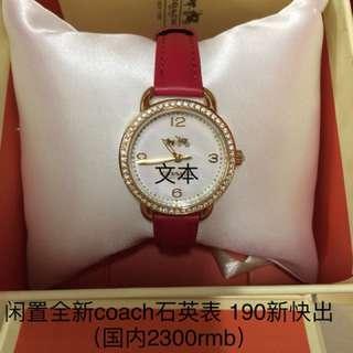 ❤️coach watch