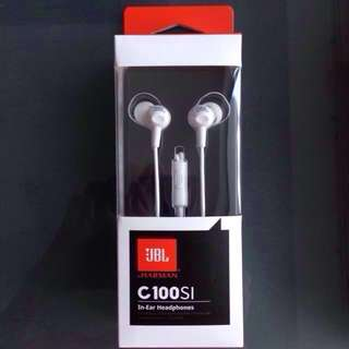 BNIB JBL by Harman C100SI In-Ear Headphones; Good for Xiaomi