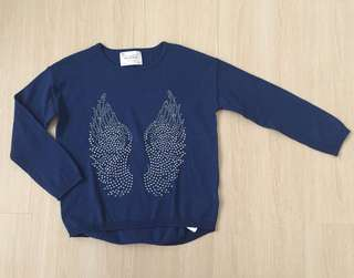 🆕 Zara Wings Diamante Sweater