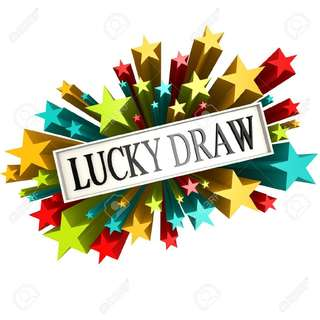 LUCKY DRAW EVERY SUNDAY!