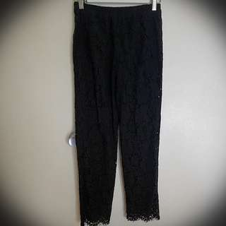 Fate & becker lace pants