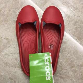 Crocs Size UK 5 Red Shoes