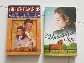 Set of 2 Christian Novels