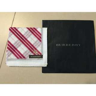Burberry 手巾