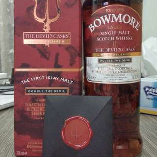 [絕版][限量] Bowmore Devil Cask batch 3
