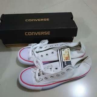 Converse Classic Putih Size 41