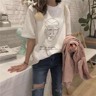 [PO] Korean printed t-shirt
