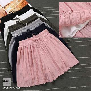 Elastic Waist Shorts Skirts WPS-0009