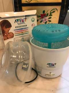 Avent Steam Steriliser for 6 bottle
