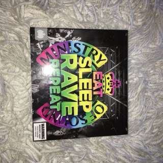 Eat sleep rave repeat CD - ministry of sound.