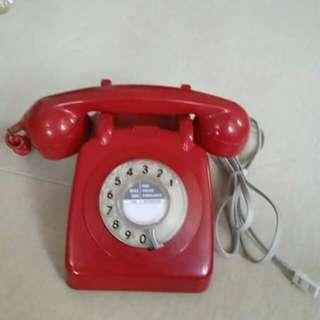 古董攪盤電話