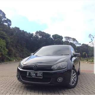 VW GOLF MK6 2011 BLACK