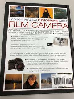 Photography Book: how to take great pictures with film camera