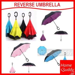 Reverse Umbrella / Car Umbrella (Ready Stocks)-Free Courier