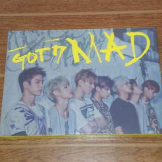 ON HAND SEALED GOT7  - MAD (Horizontal)