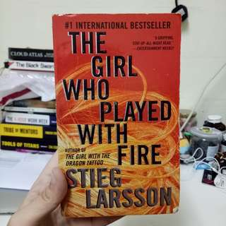 The Girl Who Played With Fire (Millenium Trilogy #2) by Stieg Larsson
