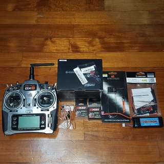 Remote Control Parts for sale (DX8 remote + all critical electronics)