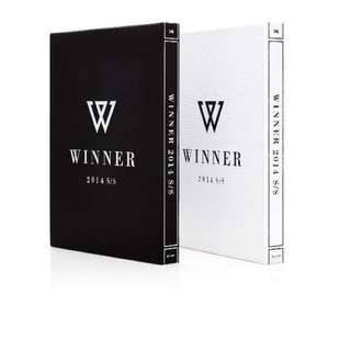 [限量] WINNER Debut Album : 2014 S/S (White Ver.)