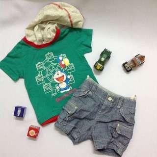 Doraemon Hoodie Set