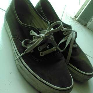 Vans authentic classic black