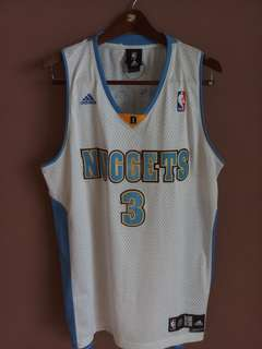 Jersey NBA Allen Iverson Denver Nuggets Original
