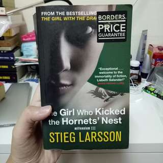 The Girl Who Kicked the Hornet's Nest (Millenium #3) by Stieg Larsson