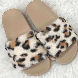 Leopard slip on