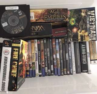 Game cds (worth a few hundreds now only $20 everything!)