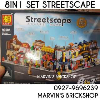 For Sale Streetscape Streetshops Building Blocks Toy