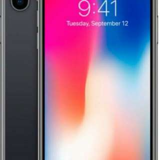 IPhone x 256gb (12 month installment plan)