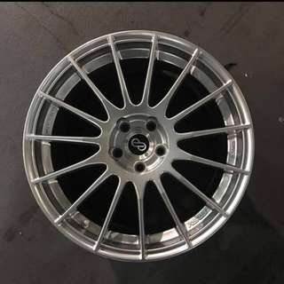 "Original 17"" Enkei RS05 Rims"