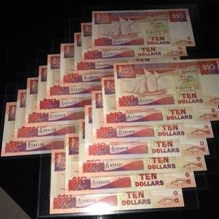 Ship Series Banknote $10