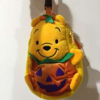 日本迪士尼 小熊維尼置物袋
