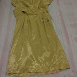 dress kuning