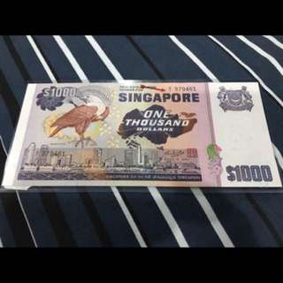$1000 Banknote Bird Series