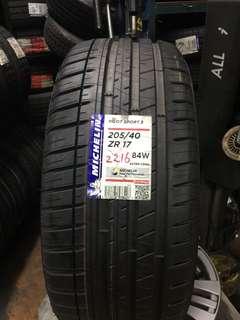 225/45R17 Michelin PS3
