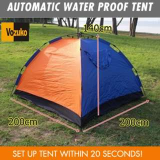Tent rental services