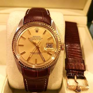 rolex 1601 mint condition 3mil serial 1972