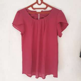 Clothes sifon pink fanta